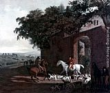 Jacques-Laurent Agasse - Departure to the Hunt
