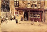 James Abbott Mcneill Whistler Wall Art - The Shop - An Exterior