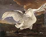 Jan Asselyn - The Threatened Swan