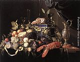 Fruit Wall Art - Still-Life with Fruit and Lobster