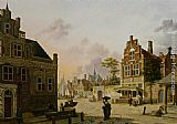 Jan Hendrik Verheijen - A Summer Day in Haarlem