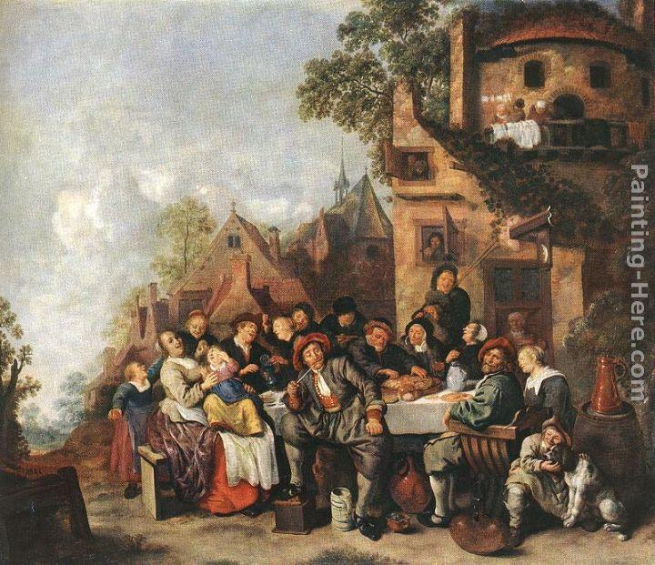 Jan Miense Molenaer Tavern of the Crescent Moon