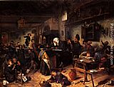 Jan Steen - A School For Boys And Girls