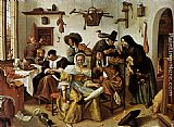 Jan Steen - Beware Of Luxury