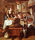 Jan Steen - Grace before the Meal