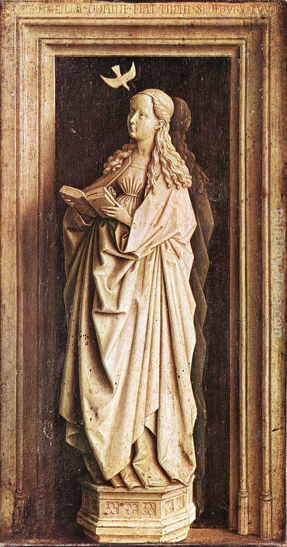 Jan Van Eyck Canvas Paintings