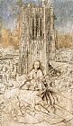 Jan Van Eyck Famous Paintings - St Barbara
