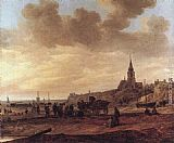 Jan van Goyen - Beach at Scheveningen
