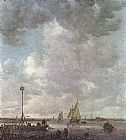 Jan van Goyen - Marine Landscape with Fishermen