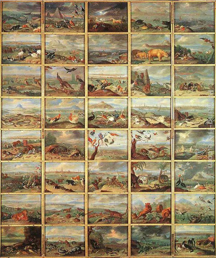 Jan van Kessel The Animals
