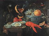 Jan van Kessel - Still Life with Fruit and Shellfish