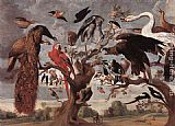 Jan van Kessel - The Mockery of the Owl