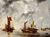 Jan van de Capelle A Calm painting