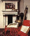 Jan van der Heyden - Still-life with Rarities