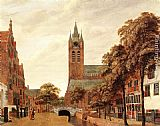 Jan van der Heyden - View of Delft