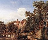 Jan van der Heyden - View of the Herengracht, Amsterdam
