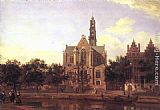 Jan van der Heyden - View of the Westerkerk, Amsterdam