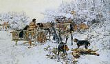 Jaroslav Fr. Julius Vesin - A winter hunt
