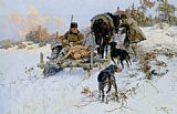 Jaroslav Fr. Julius Vesin - After the hunt