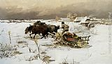 Jaroslav Fr. Julius Vesin - The Sledge Ride