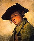 Jean Baptiste Greuze - A Young Man in a Hat