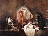 Jean Baptiste Simeon Chardin Famous Paintings - The Ray