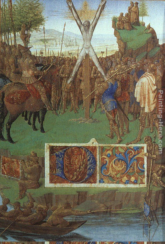 Jean Fouquet Martyrdom of St Andrew