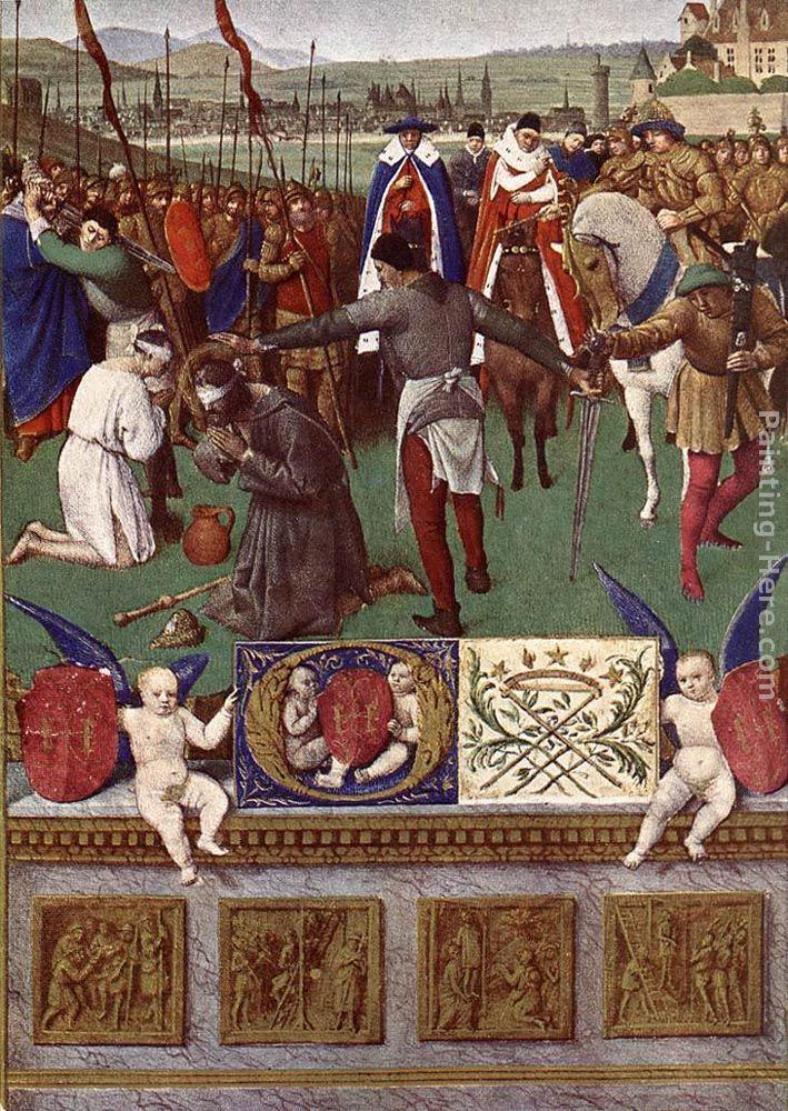 Jean Fouquet The Martyrdom of St James the Great