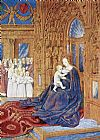 Jean Fouquet - The Madonna before the Cathedral