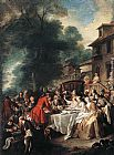 Jean Francois de Troy - A Hunting Meal