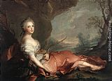 Jean Marc Nattier - Marie Adelaide of France as Diana