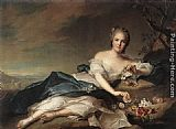 Jean Marc Nattier - Marie Adelaide of France as Flora