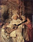 Jean-Antoine Watteau - Gilles and his Family