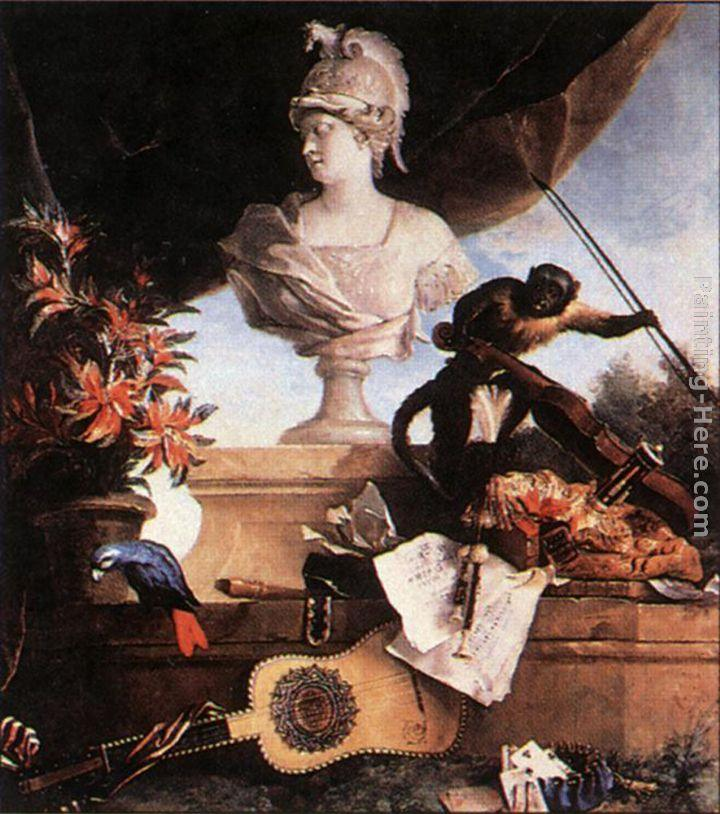 Jean-Baptiste Oudry Allegory of Europe