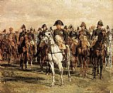 Jean-Louis Ernest Meissonier - Napoleon and his Staff