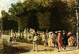 Jean-Louis Ernest Meissonier - Playing Jeu De Boules