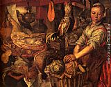 Joachim Beuckelaer - Interior of a Kitchen