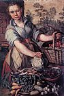 Joachim Beuckelaer - Vegetable Seller