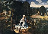 Joachim Patenier - Rest during the Flight to Egypt
