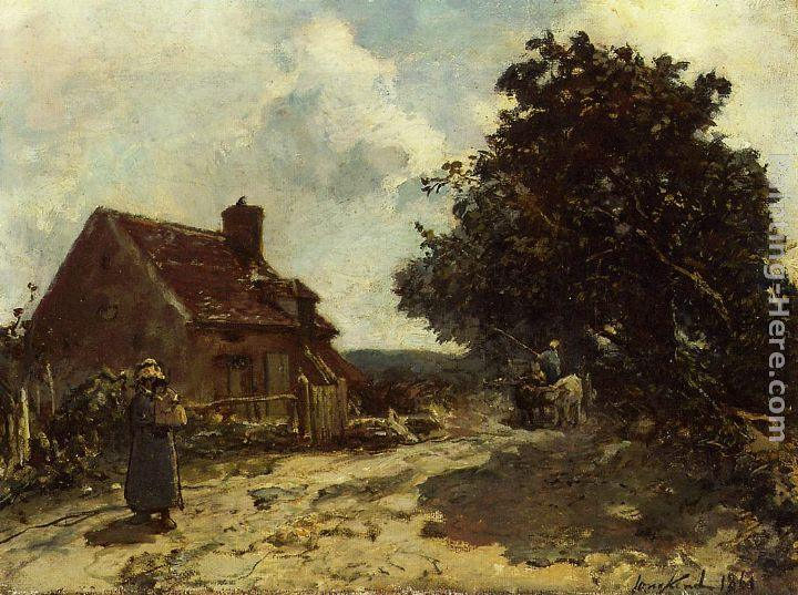 Johan Barthold Jongkind In the Vicinity of Nevers