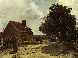 Johan Barthold Jongkind - In the Vicinity of Nevers