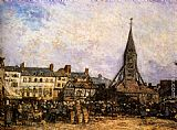 The Market At Sainte - Catherine, Honfleur