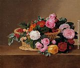 Johan Laurentz Jensen - Basket of Roses