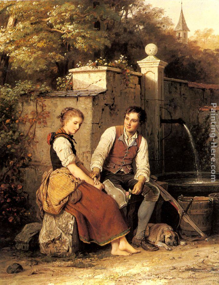 Johann Georg Meyer von Bremen At the Well