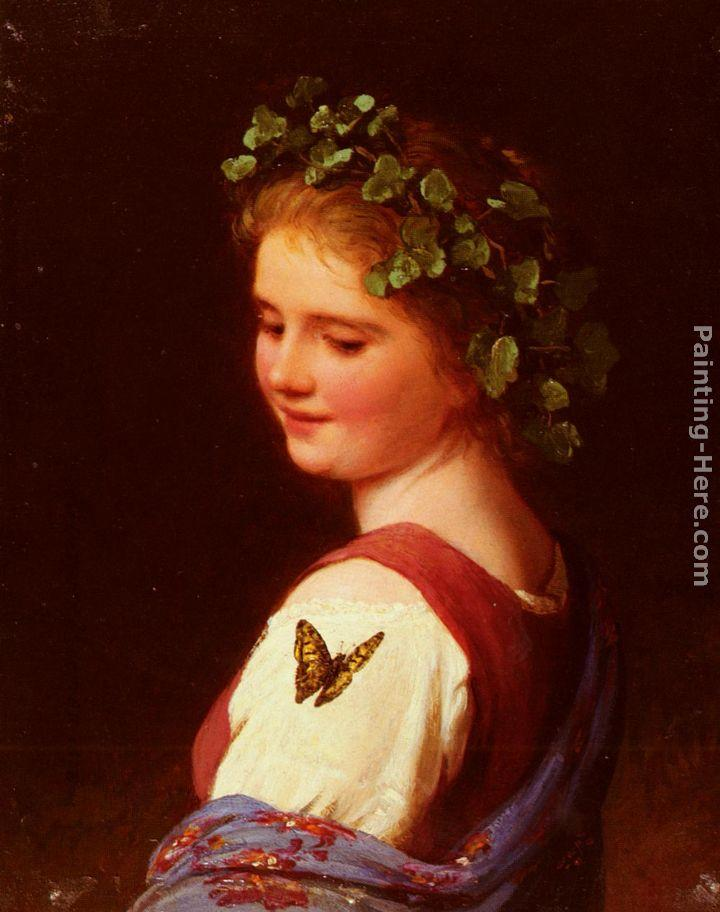 Johann Georg Meyer von Bremen The Butterfly