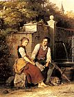 Johann Georg Meyer von Bremen - At the Well
