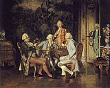 Johann Hamza - The Chess Players