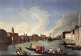 Johann Richter - View of the Giudecca Canal