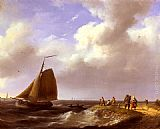 Famous Dutch Paintings - A Fresh Breeze off the Dutch Coast