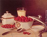 John F Francis - Strawberries and Cream